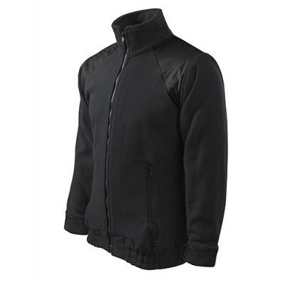 Fleecová bunda JACKET HI-Q 506, UNISEX, ebony grey