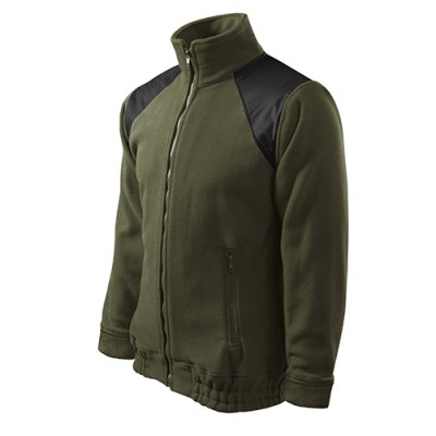 Fleecová bunda JACKET HI-Q 506, UNISEX, military