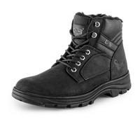 Zimná pracovná členková obuv CXS INDUSTRY, čierna