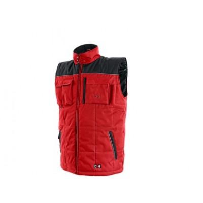 Pánska zimná vesta SEATTLE, červeno-čierna