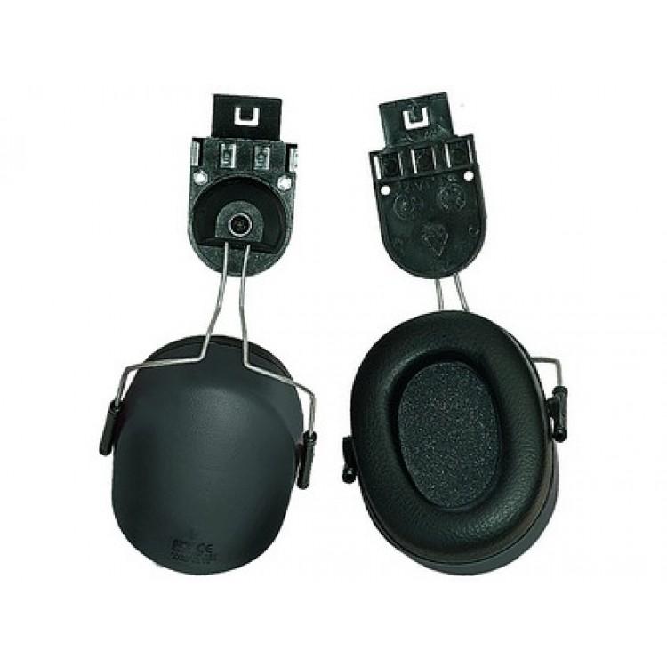 Mušľové chrániče sluchu s úchytmi na prilbu EP167