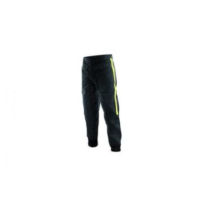 Pánske Faraci nohavice TECHNIK, so žltými pruhmi, čierne