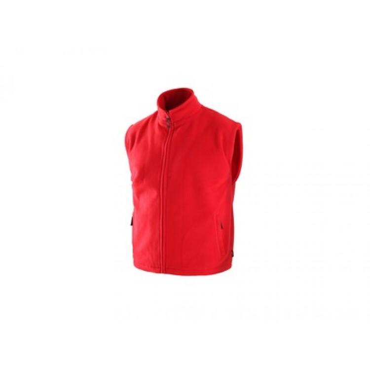 Pánska fleesová vesta UTAH, červená