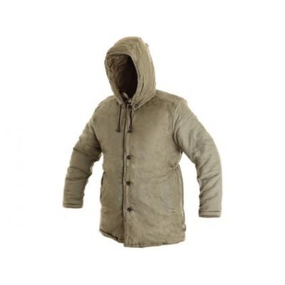 Zimný kabát pánsky, JUTOS, khaki