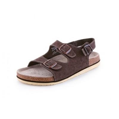 Obuv sandál CXS CORK FILL, dámsky, s opaskom, hnedý