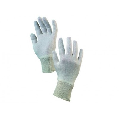 Textilné rukavice IPO, biele