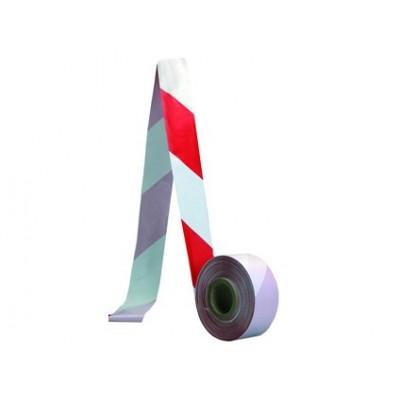Bezpečnostná zábrana, 500 m, červeno-biela