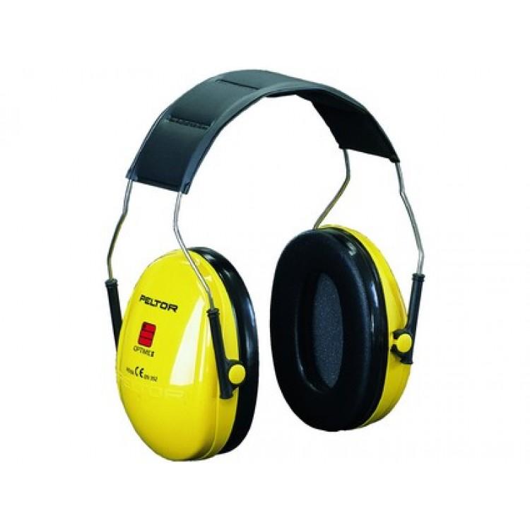 Mušľové chrániče sluchu 3M PELTOR H510A-401-GU, žlté