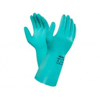 Kyselinovzdorné rukavice ANSELL SOL-VEX 37-676