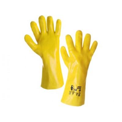 Kyselinovzdorné rukavice TEKPLAST, veľ. 10