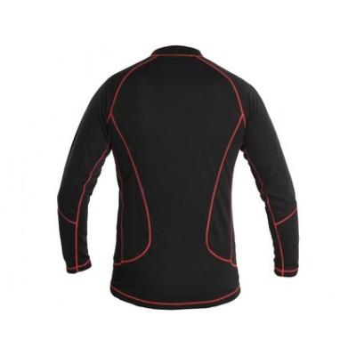 Pánske funkčné tričko EVEREST, čierno-červené