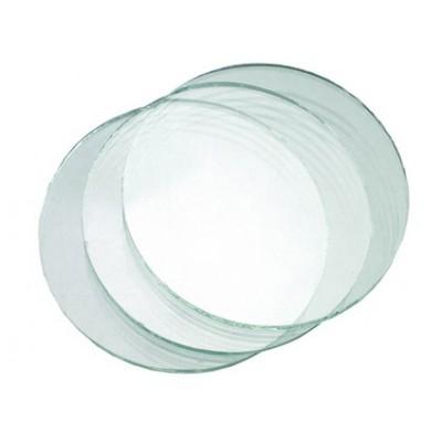 Sklo do zváračských okuliarov, číre, priemer 50 mm