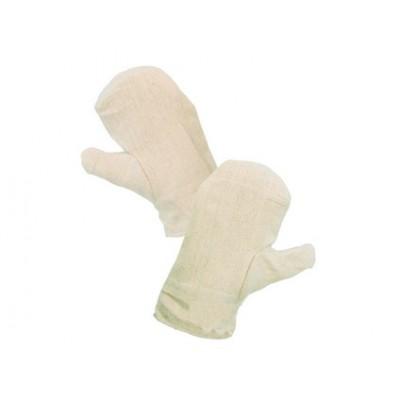 Textilné rukavice DOLI, biele, veľ. 11