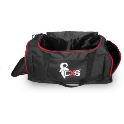 Športová taška CXS, čierna, 60 x 30 x 30 cm