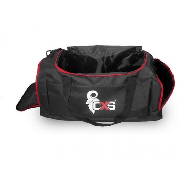 Športová taška CXS, čierna, 75 x 37,5 x 37,5 cm