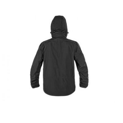Pánska softshellová bunda CXS DURHAM,čierna