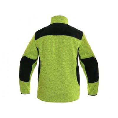 Voľnočasová bunda GARLAND, pánska, zeleno-čierna