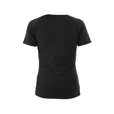 Dámske tričko CXS ELLA, čierne