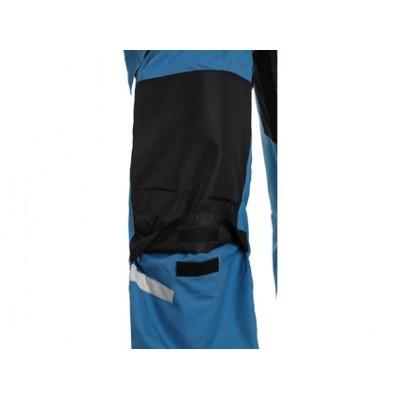 Nohavice CXS STRETCH, pánske, stredne modré-čierne