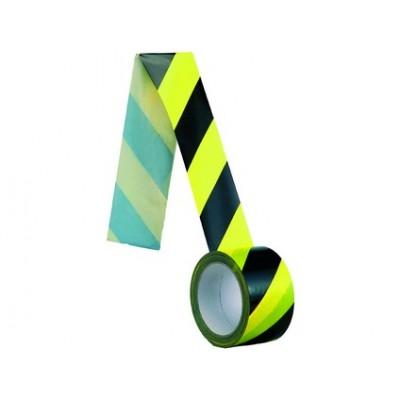 Samolepiaca páska, normová, 60 mm, žlto-čierna