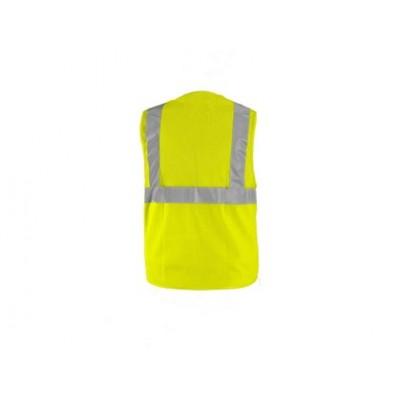 Výstražná vesta DORSET, sieťovaná, žltá