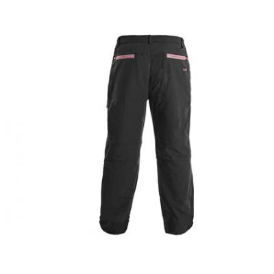 Pánske voľnočasové nohavice CXS MONTREAL ,čierno-červená
