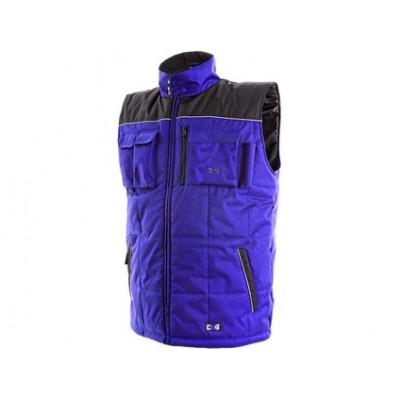 Pánska zimná vesta SEATTLE, modro-čierna