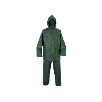 Vodeodolný oblek CXS PU, zelený
