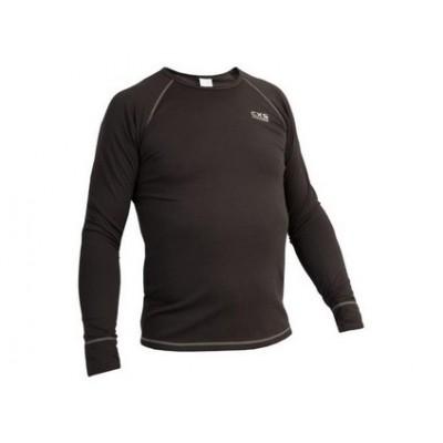 Pánske funkčné tričko ACTIVE, dl. rukáv, šedé