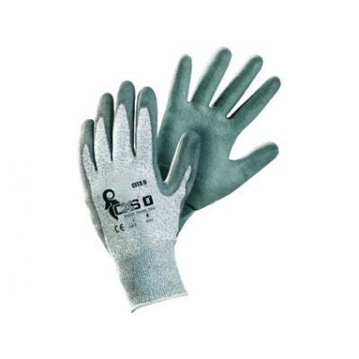 Protiporezové rukavice CITA II, šedé