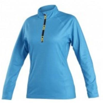 Dámska mikina/tričko CXS MALONE, svetlo-modrá